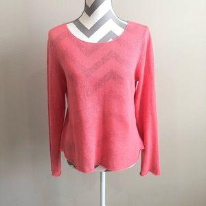 Eileen Fisher Linen Sweater S EUC